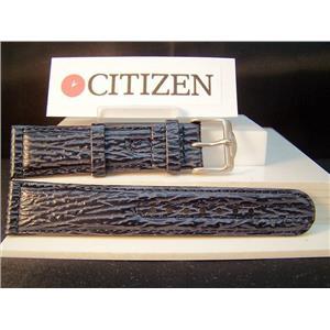 Citizen Watch Band Promaster Navihawk Blue Angels 20mm Shark Grain Blue Leather