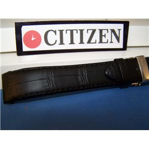 Citizen Watch Band AT1010 -05E Calibre 5700 black Leather w/Push Button Deployment