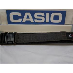 Casio Watch Band G-2110 V-1 Double Wrap NylonGrip 23mm Black and Gray G-Shock