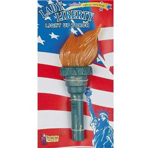 Lady Liberty Light up Torch 4th of July Independence Day Costume Prop