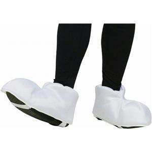 White Cartoon Character Feet Adult Shoe Covers