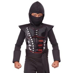 Kids Stealth Ninja Battle Armor Accessory Costume Kit