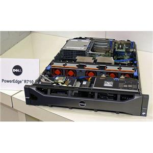DELL PowerEdge R710 Server 2xQuad-Core Xeon 2.8GHz + 64GB RAM + 6x300GB 15K SAS