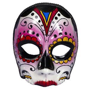 Women's Day Of The Dead Female Multi Colored Costume Mask