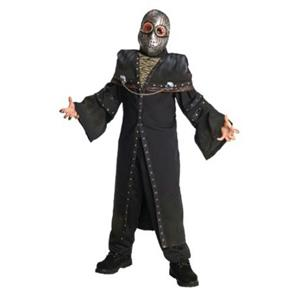 Horrorland Dark Ghoul Costume And Mask Costume Medium Size 8-10
