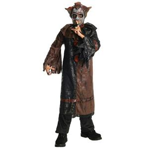 Horrorland Chuckles Evil Clown Costume And Mask Costume Small Size 4-6
