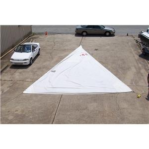 "Boaters' Resale Shop of TX 1406 2727.93 H.O. JIB W 32-6 LUFF "" NORTH SAIL"""