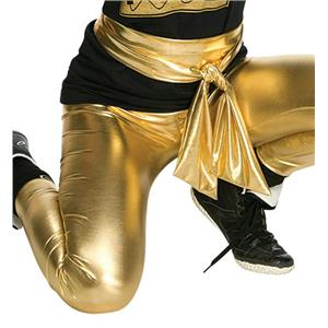 Adult Women's Old School Gold Lame Shiny Sash Belt Costume Accessory