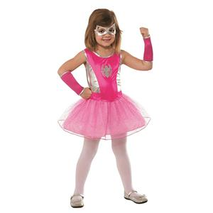 Marvel Pink Tutu Spider-Girl Child Costume Size Medium 8-10