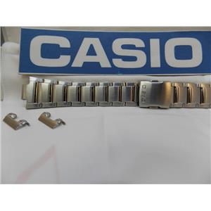 Casio Watch Band EFA-120 D Bracelet Steel Silver Tone  Edifice / Watchband