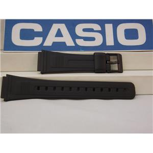 Casio Watch Band AB-10, AB-20, DB-53, DB-55, DBA-80, FB-52.Black Strap Watchband