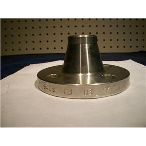"""BEBITZ WELD NECK 1""""-150 FLANGE 8 4577/1 (316) STAINLESS STEEL"""