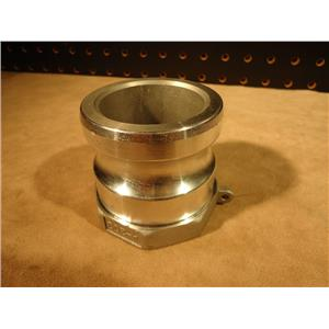 "Grainger 3LX26A 2"" Male Cam-Lock Coupling"