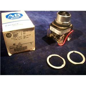ALLEN BRADLEY 800T-QT10R, PILOT LIGHT RED LENS