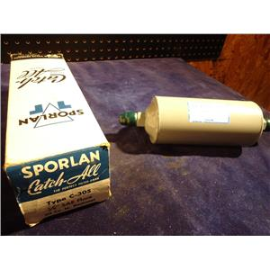 "SPORLAN C-305, 5/8"" SAE FLARE CATCH ALL FILTER DRIER"