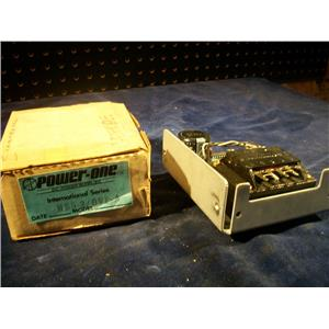 POWER-ONE, HB5-3/OVP-A, INTERNATIONAL SERIES 5VDC, POWER SUPPLY