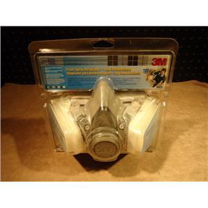 3M R6211 Low Maintenance Paint Spray Repirator, Medium