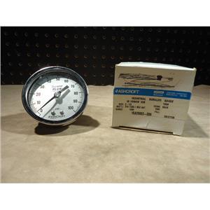 Ashcroft 25 1009AW 02B Industrial Duralife Gauge