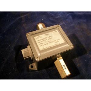 UNITED ELECTRIC J21KD-254, PRESSURE SWITCH