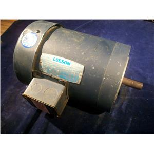 LEESON C6T17FC2D, 1HP ELECTRIC MOTOR, 208-230/460V, 1725/1425 RPM
