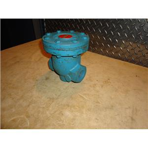 "Nicholson B-53-W 1"" Cast Iron Industrial Trap, 250 PSI"
