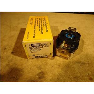 Hubbell HBL2420 Twist Lock Receptacle