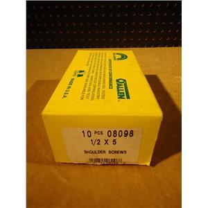 """Holo-Krome 08098 Shoulder Screws, 1/2"""" X 5"""", Lot of 10"""