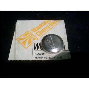 WAUKESHA CHERRY BURRELL 3-57X, 16 AMP 316LS