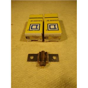 Square D B25 Overload Relay Thermal Unit, Lot of 2