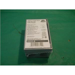 BELL OUTDOOR 5331-0 SINGLE GANG BOX