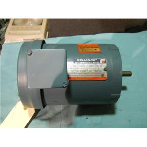 RELIANCE 3/4 HP AC MOTOR, 3450 RPM, 208-230/460V