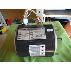 GE K55HXBST 1/4 HP ELECTRIC MOTOR, 230V, 1625 RPM, 48YZ FRAME
