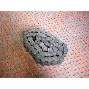"TSUBAKI RS100-2 RIV, 4' 10"" SECTION DOUBLE STRAND ROLLER CHAIN"