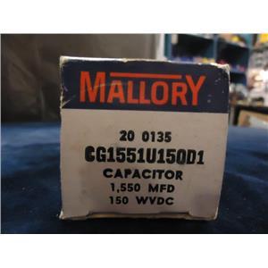 MALLORY CAPACITOR CG1551U150D1