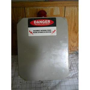 Vynckier CAT.# RVJ1008HWPL1 High Fluid Level Alarm Box