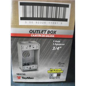 TayMac SB575S Outlet Box (Lot of 16)