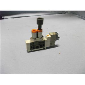 SMC SY3160-5LOZ-C4 24VDC  SINGLE SOLENOID CASSETTE VALVE