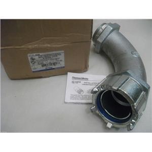 "Thomas Betts 5258 2 1/2"" Liquidtight Flexible Metal Conduit Connector 90 Angle"
