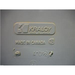 "PVC Conduit Body Kraloy 4"" (31/2) Wet Location"