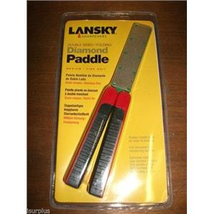 Lansky Double Sided Diamond Paddle Sharpener