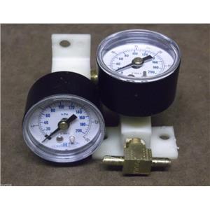 Johnson Controls Air Pressure Gauge / Part No. G-2010-5 / Lot of 2