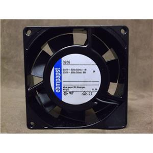 Ebm-Papst AC Axial Compact Fan / Catalog # 3956 / 230 Volts