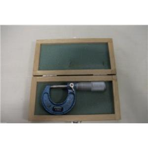 FOWLER MICROMETER 0-25mm  W/ CASE