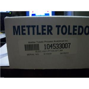 METTLER-TOLEDO 104533007 ELEC, 4501, PT 100, S/T, 3M SERIAL NO. G10909