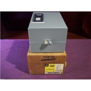 ALLEN-BRADLEY 500 A0D93 AC CONTACTOR 3 POLES 18 AMP SERIES B