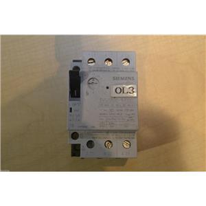 (Lot of 6) Siemens 2.4-4 A Circuit Breaker, # 3VU1300-1MJ00