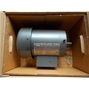 Lincoln 1 Hp V-tec Motor Part # RF4S1TC61Q1, 1800RPM, 230/460V, 3Ph, 56C Frame