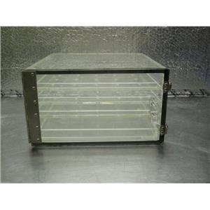 CLEAR PLASTIC ACRYLIC DISPLAY BOX CASE 12X12X7