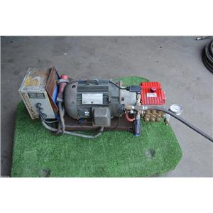USED Aqua Blast Model High Pressure Cleaning System