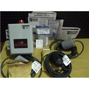 "New SJE Rhombus Single Phase Simplex Pump Control ""Type 115"" W/SWITCH&FLOAT KIT"